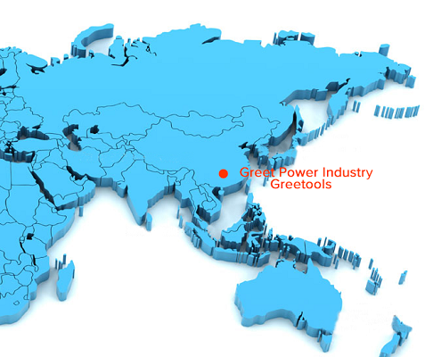 Greetools Location in China