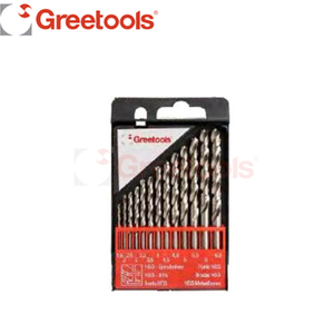 13 Piece HSS Ground Bright Finish Drill Bits Set