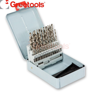 50 Piece HSS Fully Ground Drill Bits Set