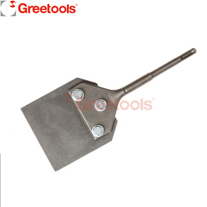 SDS Plus Floor Scraper Cleaning Thin Set Chisel